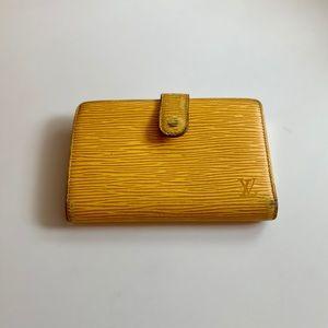 Louis Vuitton Porte Monnaie Billets Viennois Epi